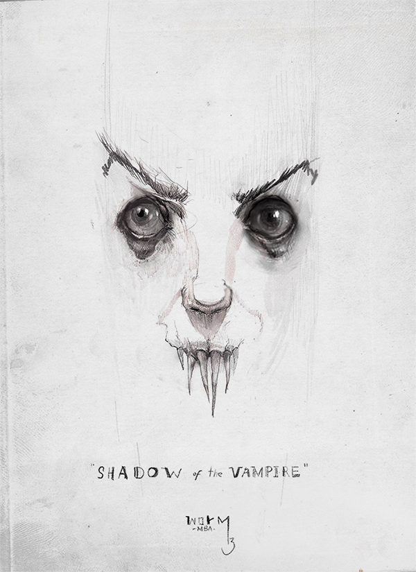 'shadow of the vampyre' by DamienWorm