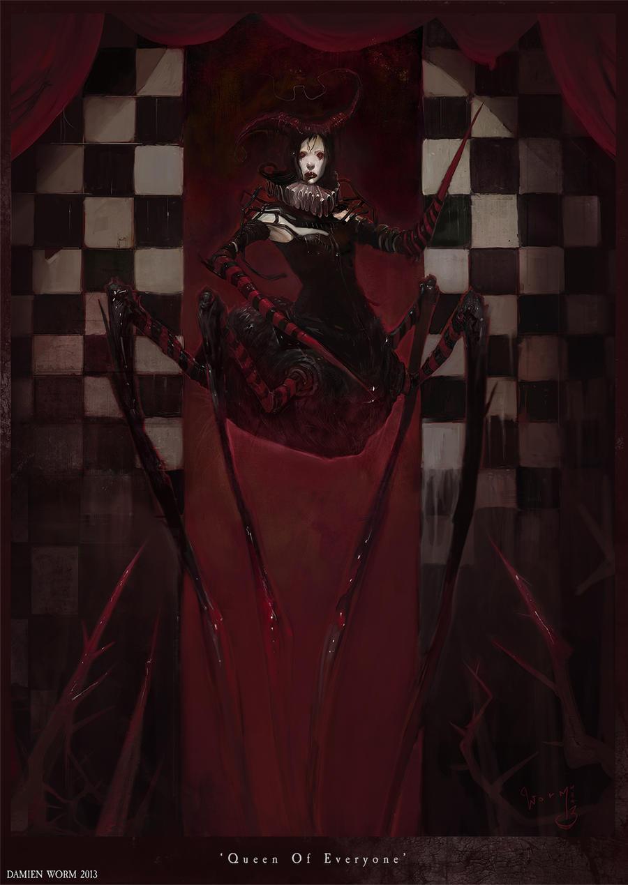 Queen Of Everyone by DamienWorm