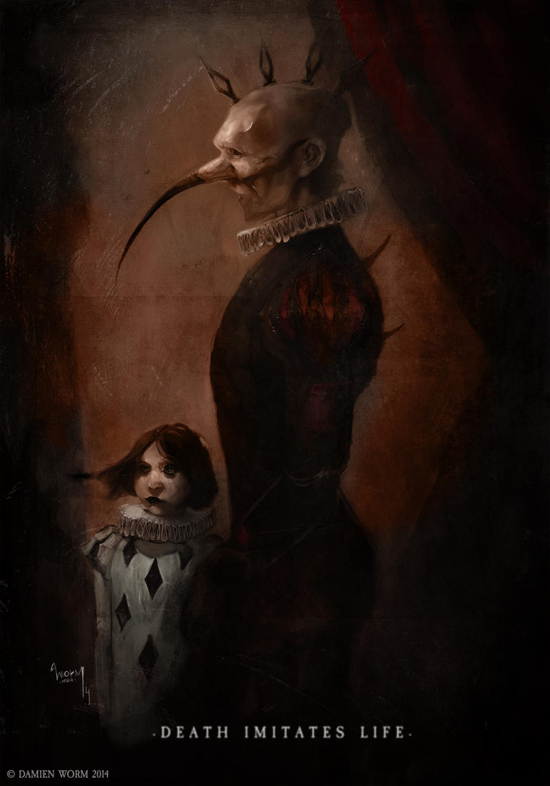 Death Imitates Life by DamienWorm