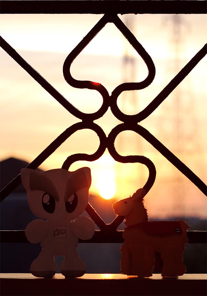 super sunset by LeorenArt