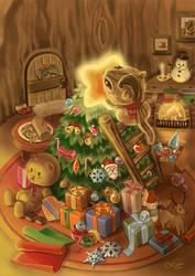 Merry XMAS 2012 by LeorenArt
