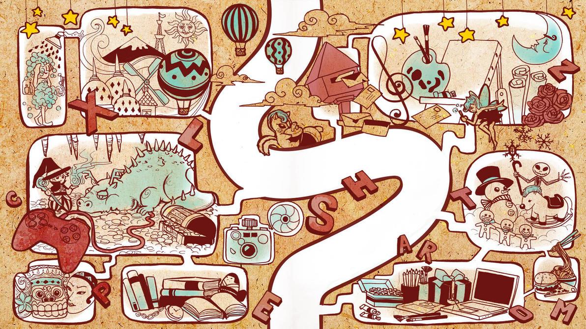 Artistic Journey by LeorenArt