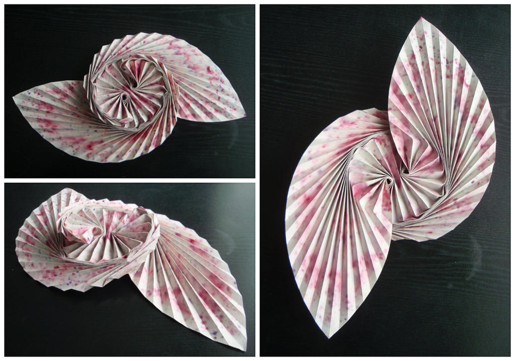 Origami Leafy Dance - Alexander Kurth by Atriee