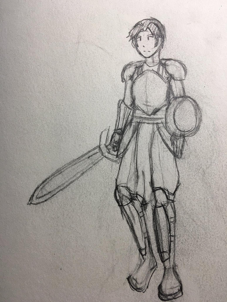 Character concept Sanus by Ngumaha