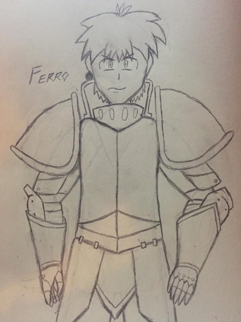 Updated Ferro the knight by Ngumaha