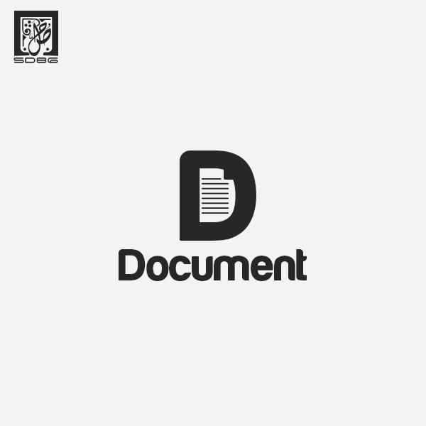 Document logo by salahdesigner86