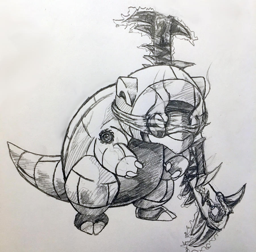 Sandshrew the Demon Hunter by CptKomamura
