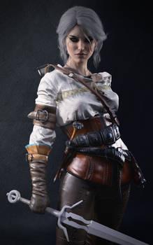 The Witcher 3. Ciri (Portrait)