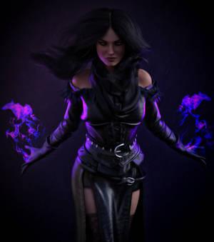 The Witcher 3. Yennefer (Portrait)