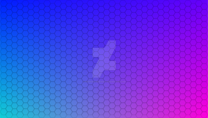 Honeycomb Pattern with Mesh Color Gradient