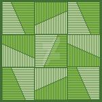 Zen Leaves Abstract Vector Art