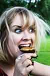 Crazy mushroom eater