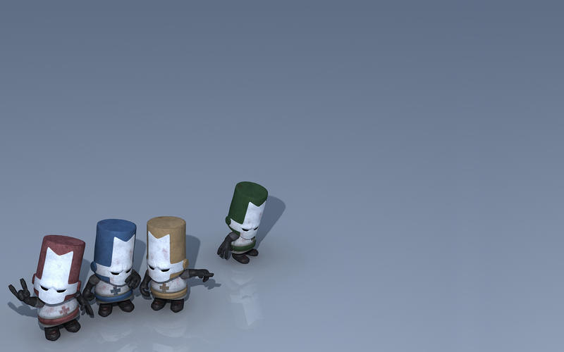 Castle Crashers Wallpaper 3D by Discmage