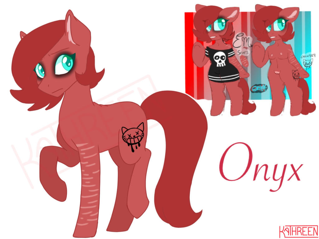 Art Trade with ONYX-GAY by MLPdrawerCurlyCotton