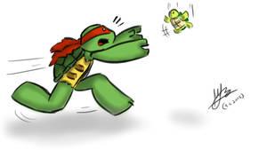 Raphie ~ Turtle tot