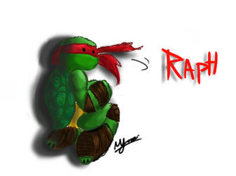 Raph alone by myrza289