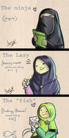 Different types of Hijab!
