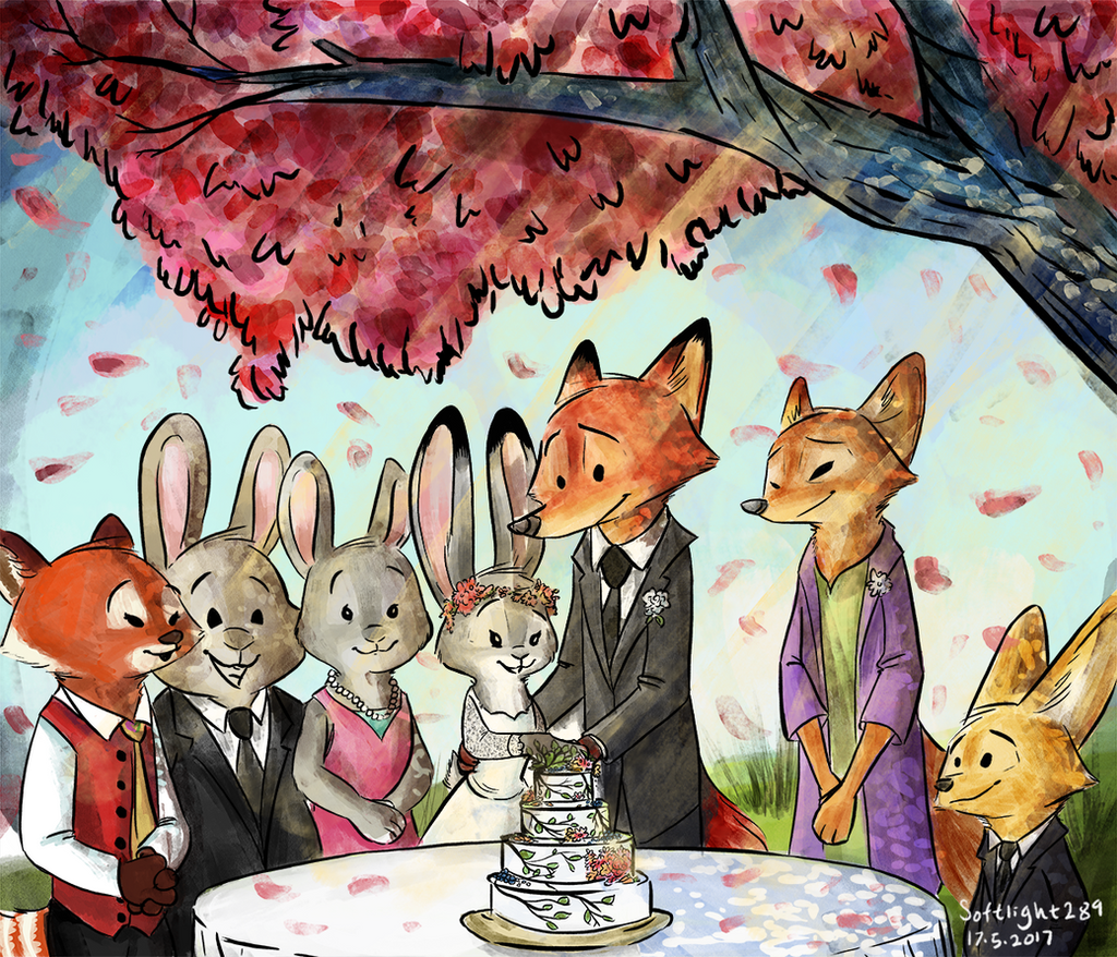 Love is in Bloom at the First Wedding of the Fandom!
