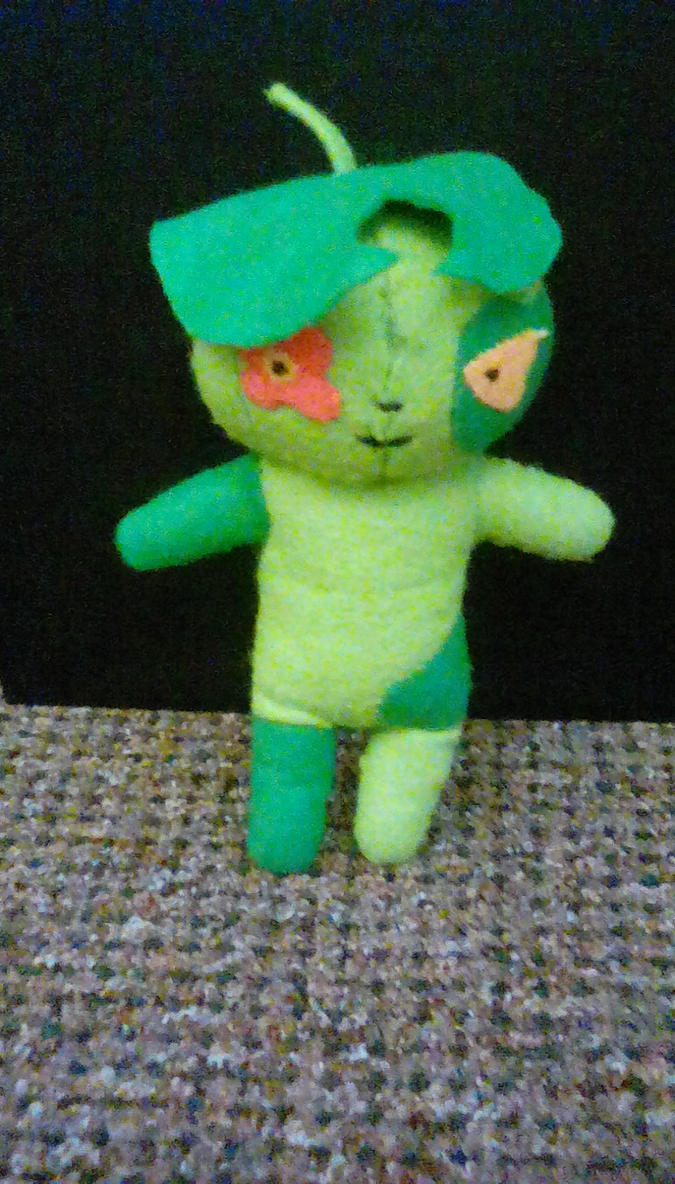 blue exorcist Nee plushie by danni599