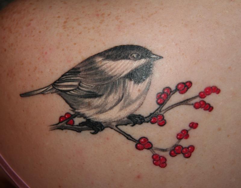 Chickadee Tat by yorkchop on DeviantArt