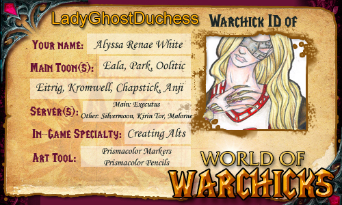 WoW - Warchicks ID 2 by LadyGhostDuchess