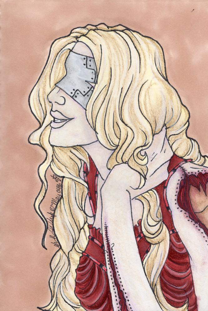 WoW - Beautiful Blonde by LadyGhostDuchess