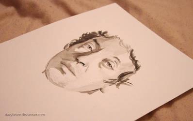 Serge Gainsbourg by davylarson