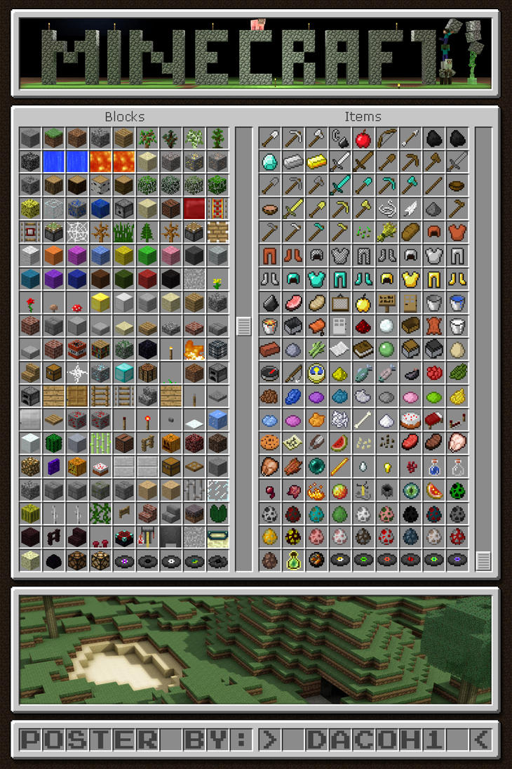 List Of Stuff To Craft In Minecraft