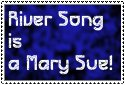 River Song is a Mary Sue Stamp by gorgonbreath