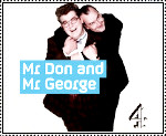 Mr. Don and Mr George stamp by gorgonbreath