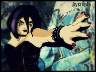 Dystopia Girl Poison Chen by gorgonbreath