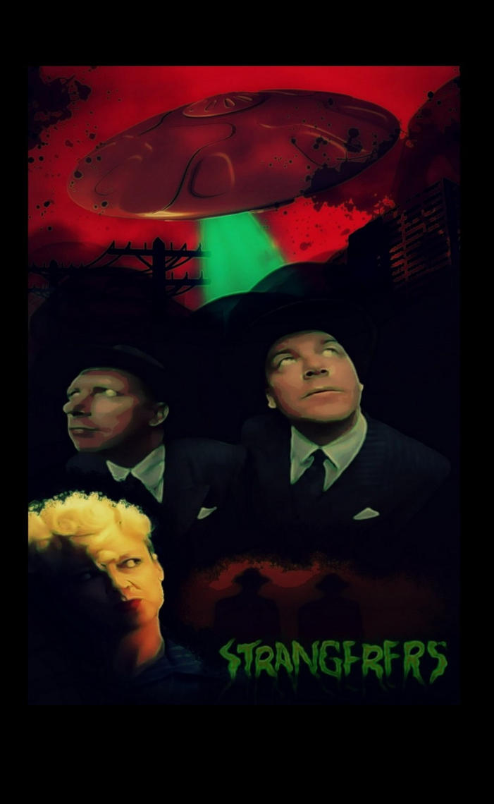 Strangerers Movie Poster 2 by gorgonbreath