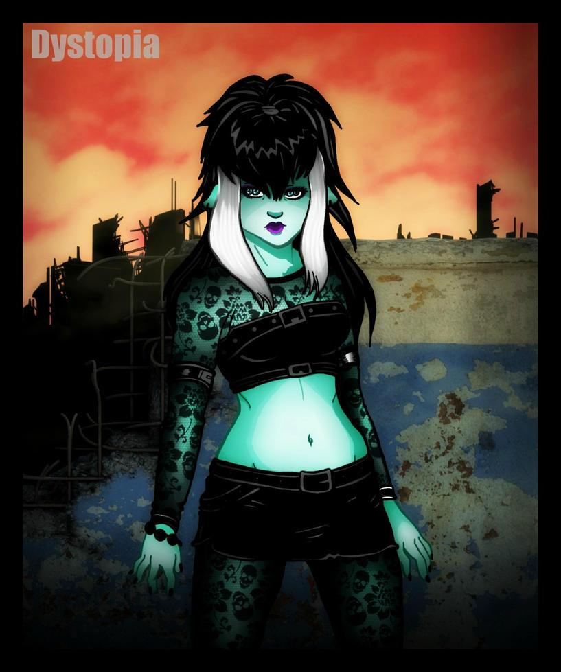 Deadlands Mouflette  by gorgonbreath
