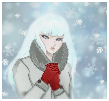 The Snow Witch by gorgonbreath