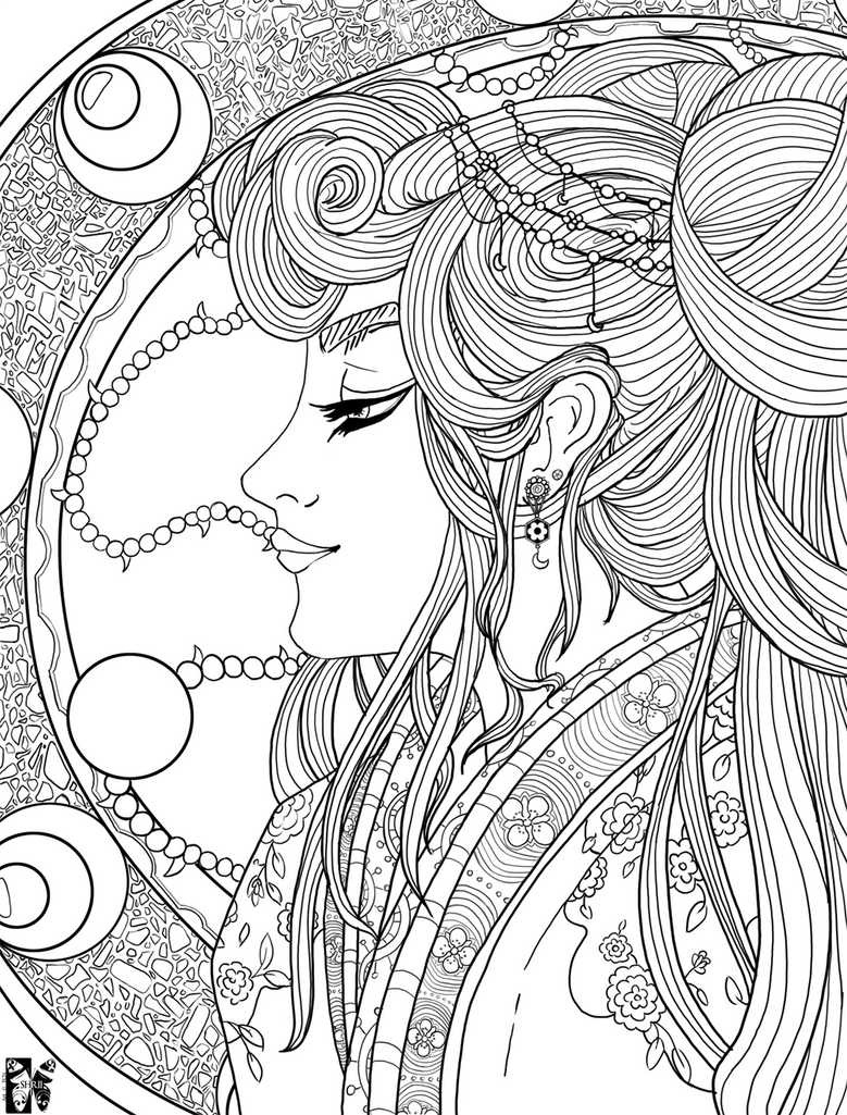 Art Nouveau Coloring Pages No Comments Have Been Added