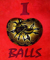 I Love Balls by Tipsqueak