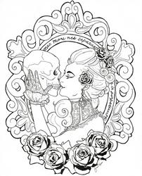 The Widow by Tipsqueak