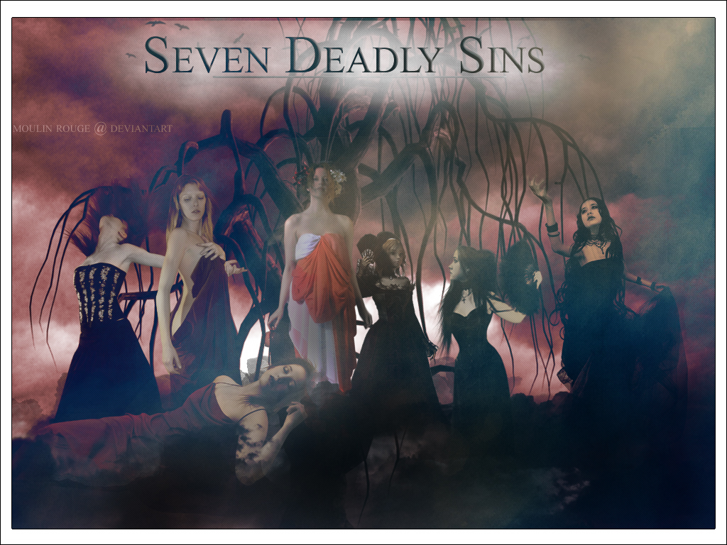 Seven Deadly Sins by maemaeee
