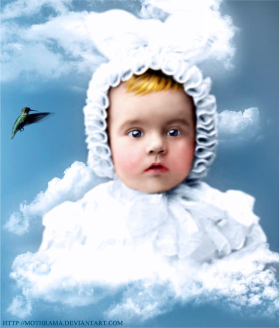 Little Baby Angel by mothrama on DeviantArt