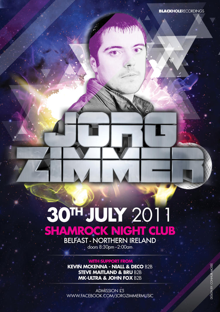 Jorg Zimmer Club Night Poster by acidtone1 on DeviantArt