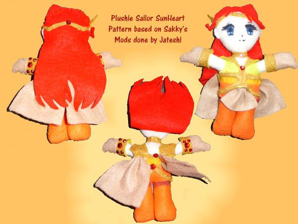 Plushie Sailor SunHeart by Jateshi