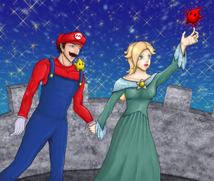 Alternate Universe Mario by HikaruNo5