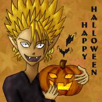 Hiruma Halloween by HikaruNo5