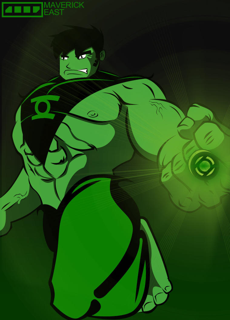 Hulk Lantern by Maverickeast