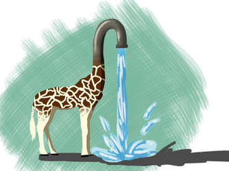 Giraffasink by Kashi-NG