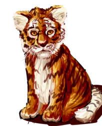 Tiger Speedpaint by Kashi-NG