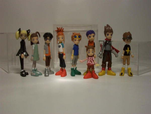 Tamers Mini Figurines by neoarchangemon