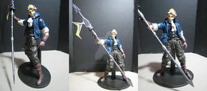 FF7 Cid Custom Play Arts