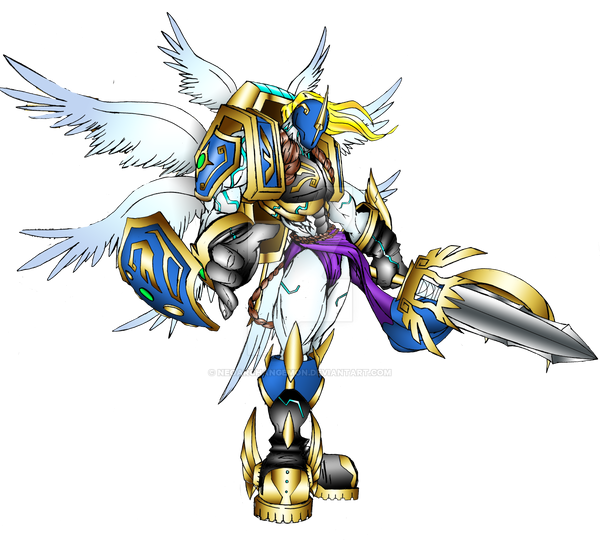 Seraphimon Wallpaper OMEGA SERAPHIMON by ne...
