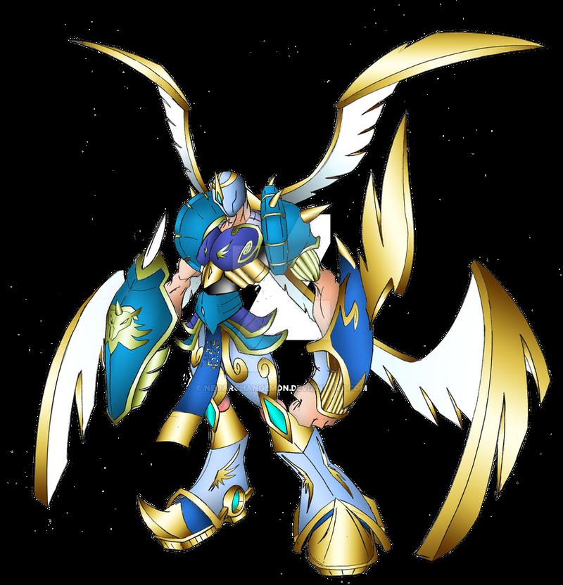 arch angemon by neoarchangemon on deviantart